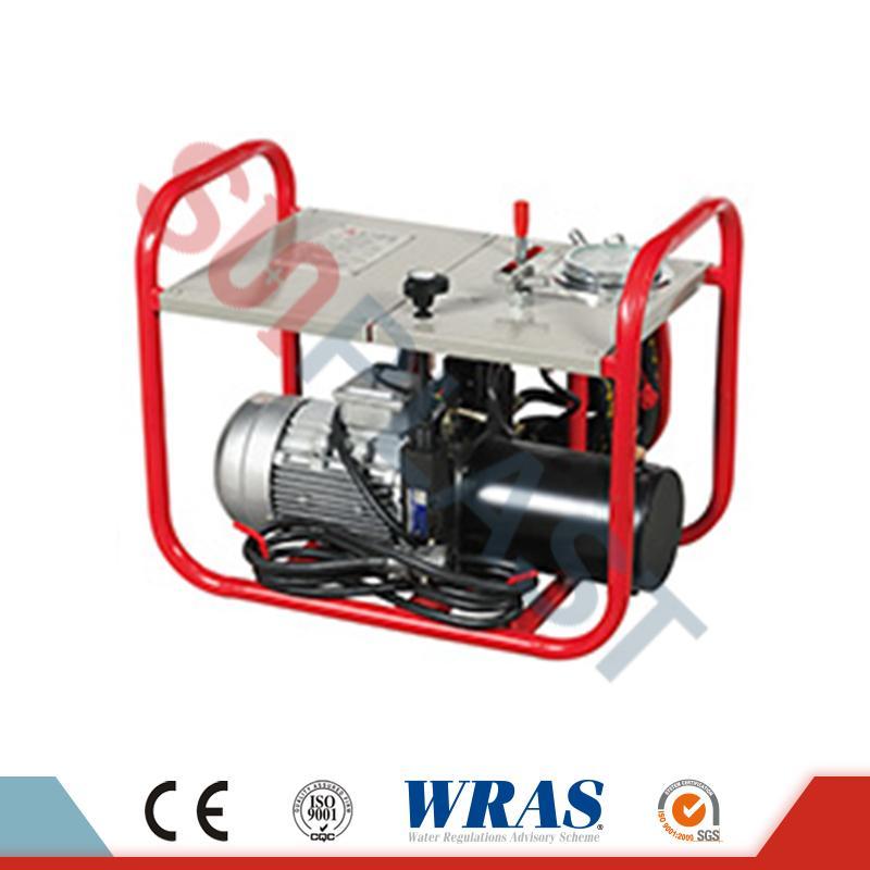 63-200mm ročni / hidravlični stroj za varjenje stožcev za HDPE cevi