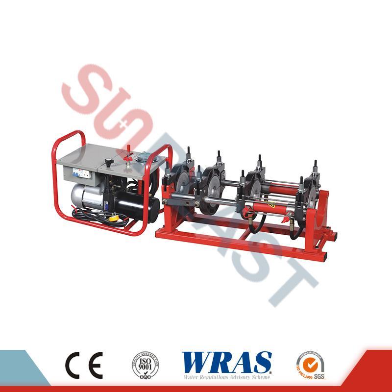 63-160mm Hidravlični Butt Fusion varilni stroj za HDPE cevi