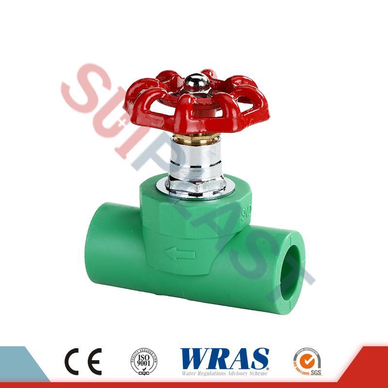 DIN 8077 Zavorni ventil PPR