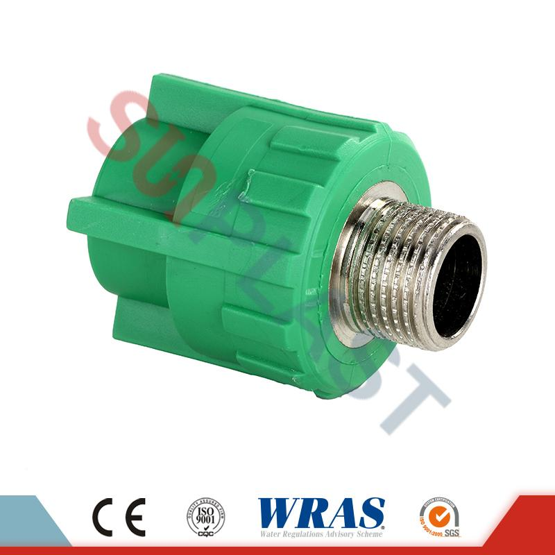 Grey PPR Male Coupler